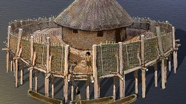 Desentierran una fortaleza más antigua que las Pirámides de Egipto ubicada en un lago de la Edad de Hielo