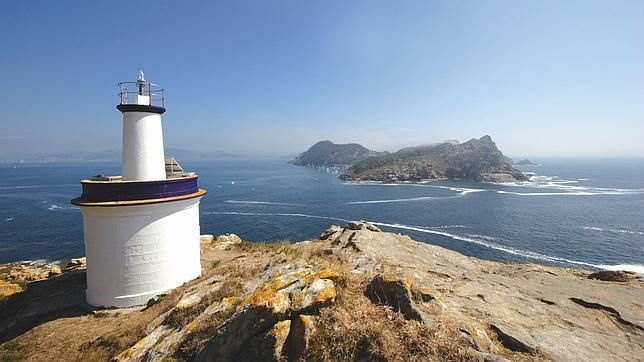 La ruta del faro de A Porta en las Islas Cíes