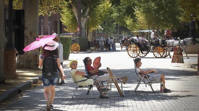 La canícula se ha cebado con las ciudades del sur, como Sevilla