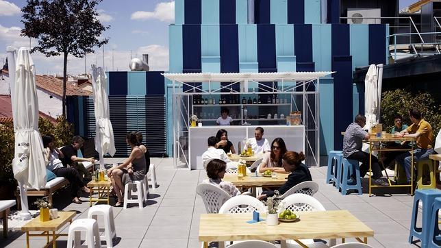 La terraza de la Casa Encendida está abierta todos los días de la semana