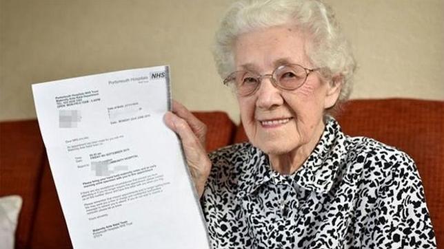 La abuela de 99 años a la que diagnosticaron un embarazo