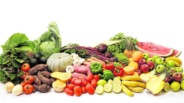 Los betacarotenos y la vitamina C están presentes en frutas y verduras de temporada