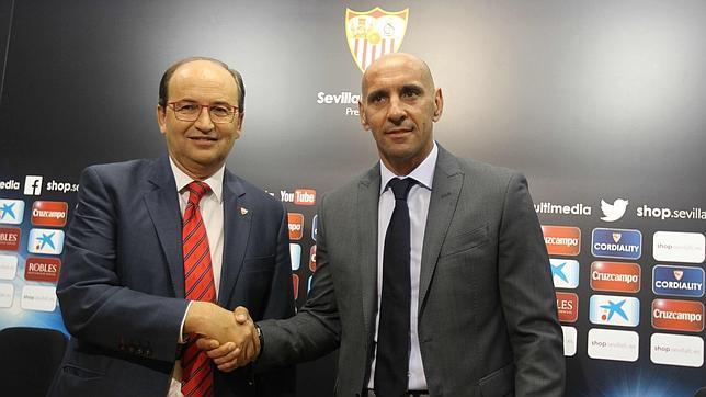 Monchi ha renovado como director deportivo del Sevilla hasta 2020