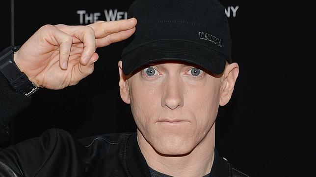 Eminem en el estreno de «Southpaw» el lunes en Nueva York