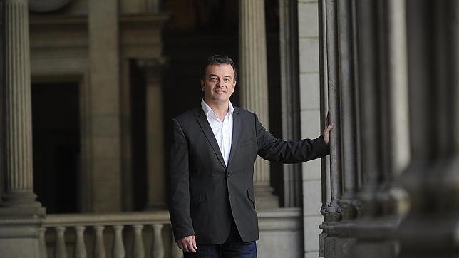 Alfred Bosch, presidente del grupo ERC en Barcelona