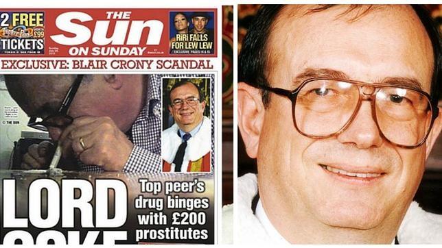 Un lord del Parlamento británico, «pillado» esnifando cocaína junto a dos prostitutas