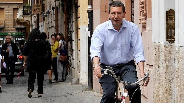 Ignazio Marino, alcalde de Roma