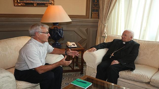 Imagen del encuentro entre Ribó y Cañizares