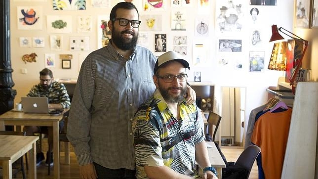 Sergio Bang (de pie) y Goyo Villasevil (sentado), dos de los socios fundadores de Swinton & Grant