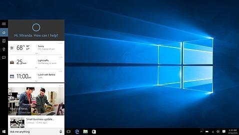 Windows 10: así es el nuevo sistema operativo de Microsoft