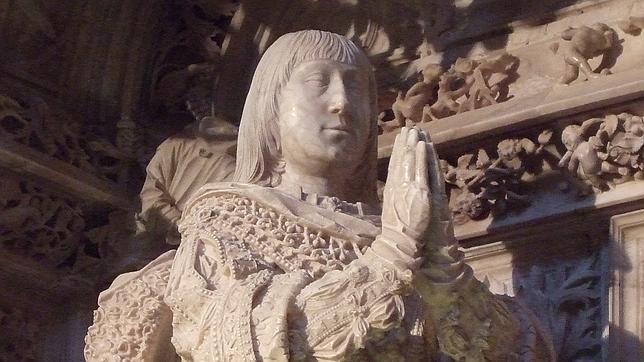 Sepulcro de Alfonso de Castilla en la Cartuja de Miraflores (Burgos)