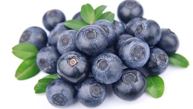 Arándanos, antioxidantes y antibacterianos