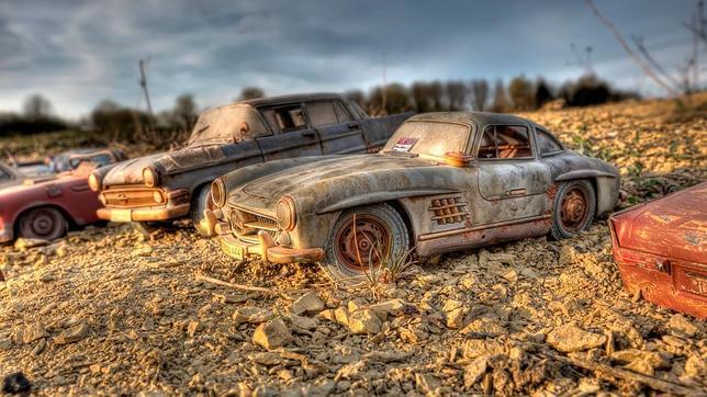 Así quedaría abanado el carísimo Mercedes-Benz 300 SL «alas de gaviota», un coche carne de coleccionista y subasta