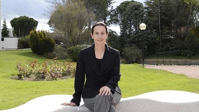 Susana Martínez-Conde, en un viaje a Madrid en la primavera de 2014 para hablar de los engaños de la mente