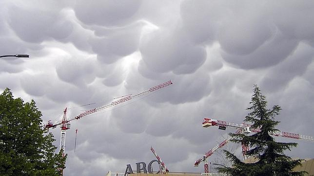 Mammatus, las nubes misteriosas