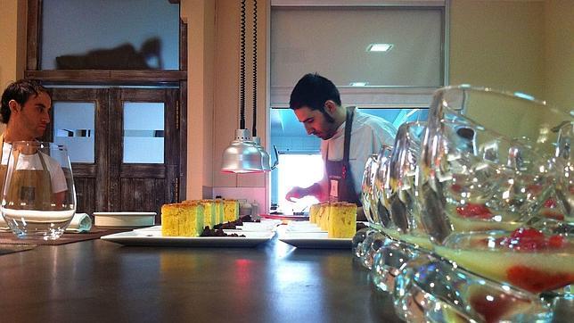 Arte y gastronomía se encuentran en este actual restaurante de la ciudad de Orense