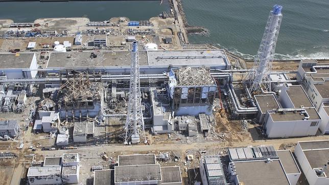 La central nuclear de Fukushima quedó gravemente dañada tras el terremoto y posterior tsunami de 2011