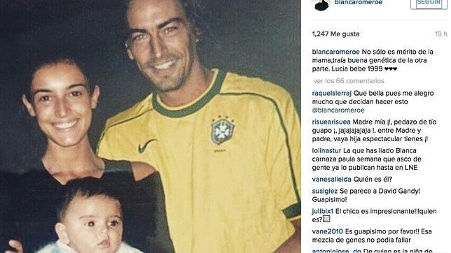 Blanca romero comparte en instagram una imagen sobre for Blanca rivera romero instagram