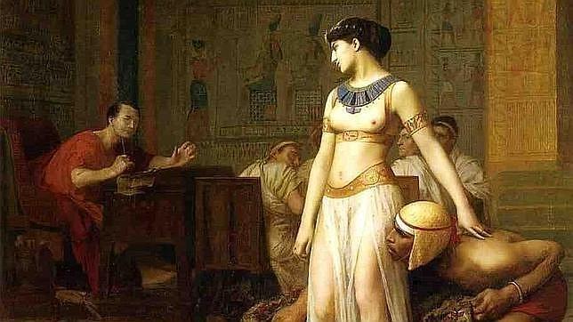 El verdadero rostro de Cleopatra
