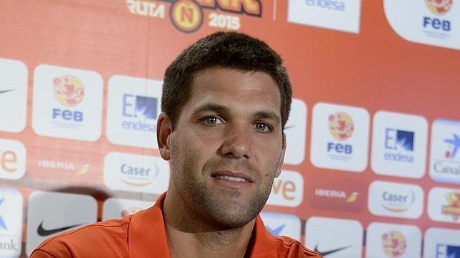 Felipe Reyes, jugador de la selección española de baloncesto - felipe-reyes-espana--644x362