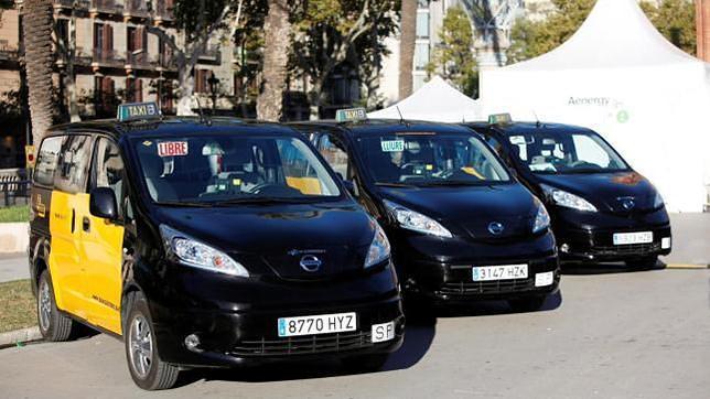 Los taxis de Barcelona siguen siendo negros