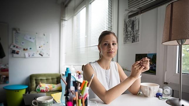 La jóven microbióloga Giulia Enders
