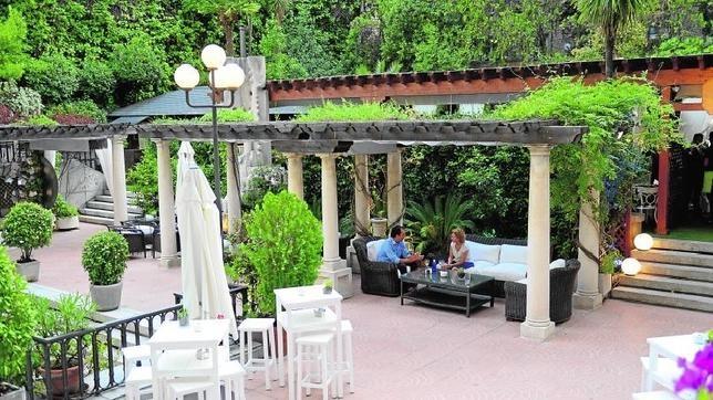 El gran vergel de la castellana for Jardin hotel miguel angel