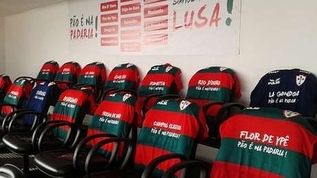 El Portuguesa de Brasil cierra un sponsor distinto por camiseta