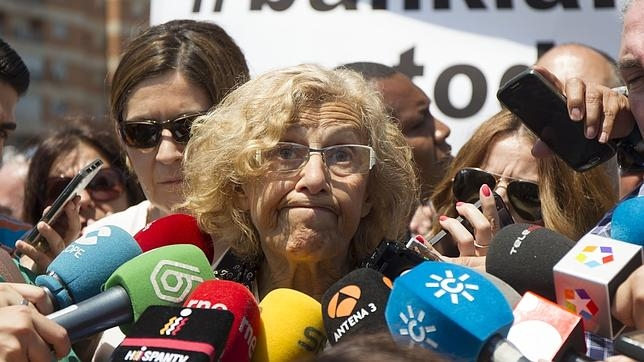Manuela Carmena, alcaldesa de Madrid, en una foto de archivo
