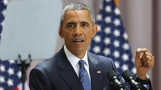 Barack Obama en una intervención en la universidad de Washington