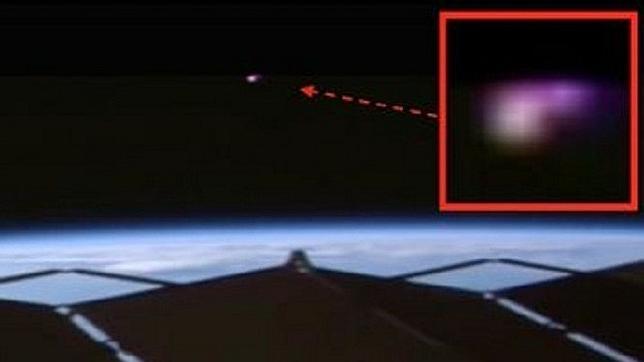La NASA graba un extraño ovni próximo a la Estación Espacial Internacional