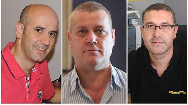 David Romero, Ricardo Lop y Manuel Cruz, emprendedores online de Castelserás (Teruel)
