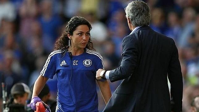 La bronca de Mourinho con la médica del Chelsea