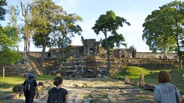 El templo de Preah Vihear renace para el turismo