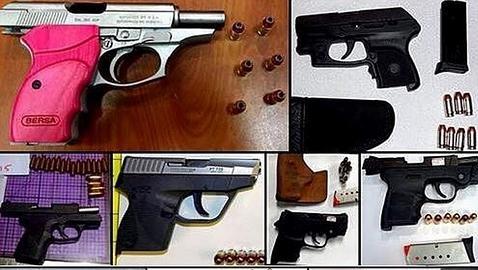 Las diez armas más impactantes encontradas en los equipajes de mano
