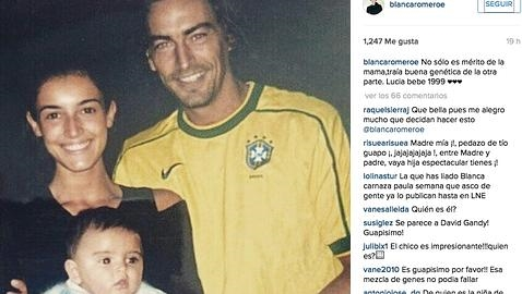 Blanca romero revela la historia del padre biol gico de su for Blanca romero foto padre de su hija