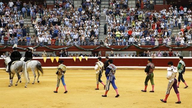 Gran fiesta taurina de la libertad en San Sebastián