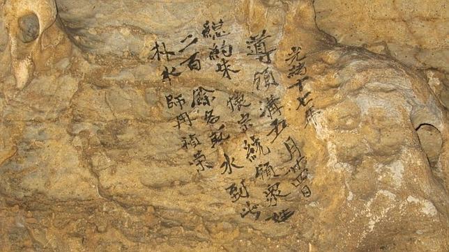 Descubren un grafiti de 500 años sobre  las consecuencias sociales del cambio climático