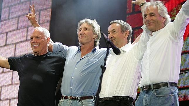 La legendaria banda británica Pink Floyd