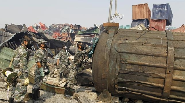 El régimen de Pekín intenta ocultar las dimensiones de la tragedia en Tianjin