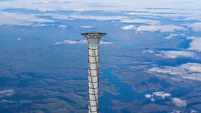 Este ascensor espacial facilitaría el despegue de naves