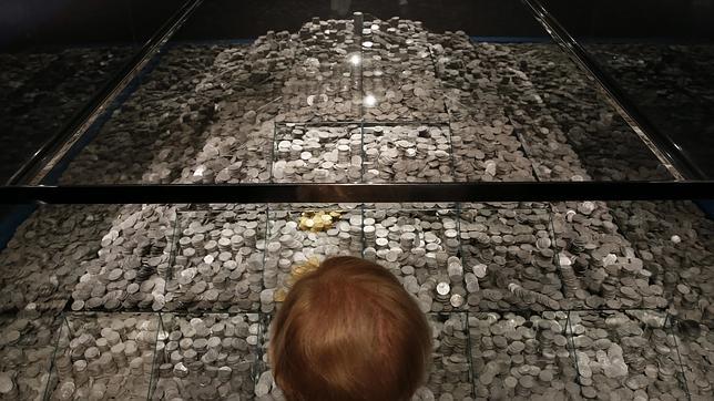 Parte del patrimonio recuperado de la fragata Nuestra Señora de las Mercedes, en el Museo Arquelógico