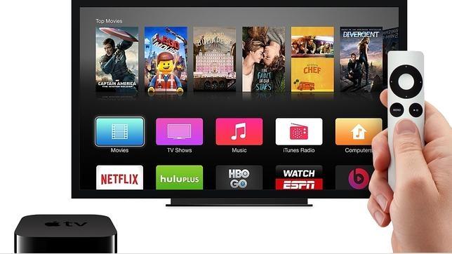 El modelo actual de Apple TV