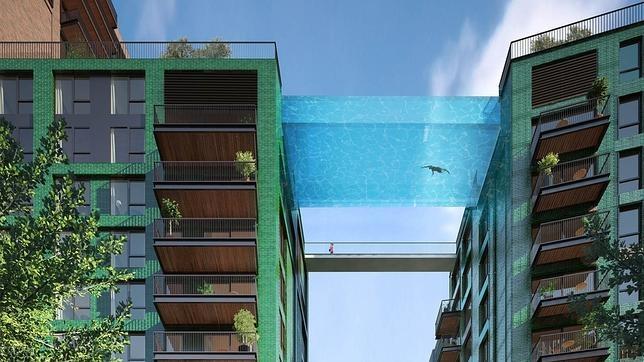 4d5422725a859 Viajar La piscina aérea unirá dos edificios de diez plantas de altura