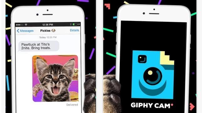 como hacer una foto gif con iphone