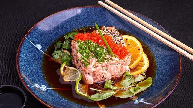 Un japonés con los productos más frescos y bien preparados en Orense