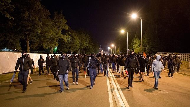 Ola de violencia xenófoba en Alemania