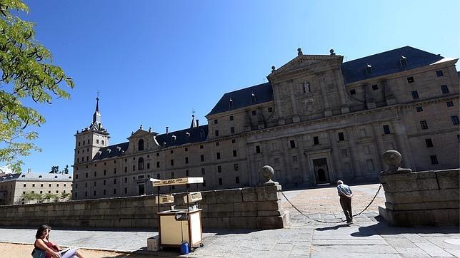 Acceso principal del Monasterio de El Escorial