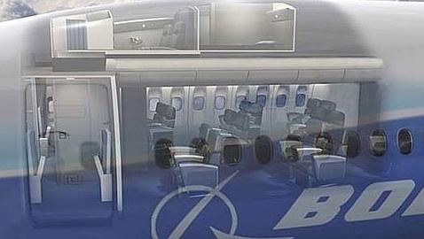 El «compartimento secreto» en el que duermen las azafatas durante el vuelo