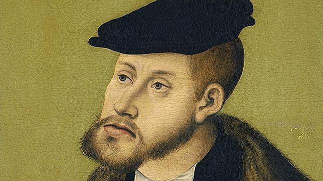 Retrato del Emperador Carlos V en 1533